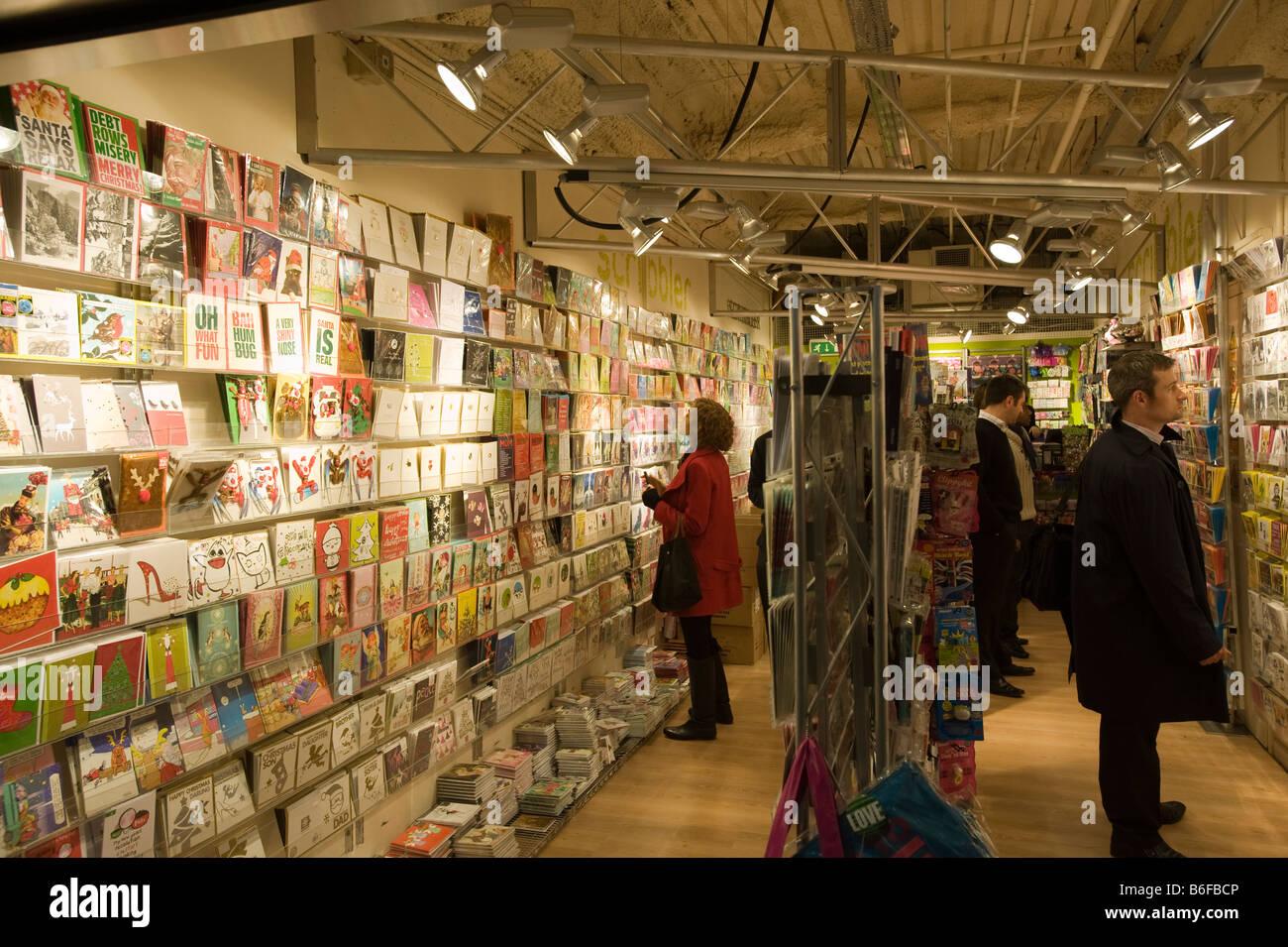 Greeting Card Shop London United Kingdom Stock Photo 21236566 Alamy