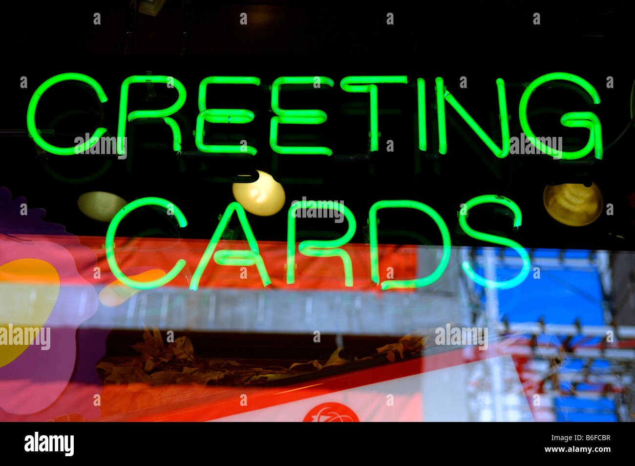 Display Greeting Cards Stock Photos Display Greeting Cards Stock