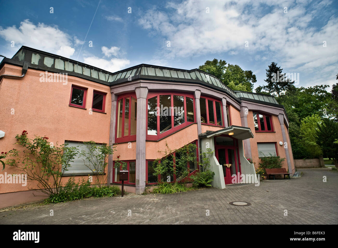 Rudolf Steine House of the Anthroposophical Society, Working Center Berlin, Germany, Europe - Stock Image