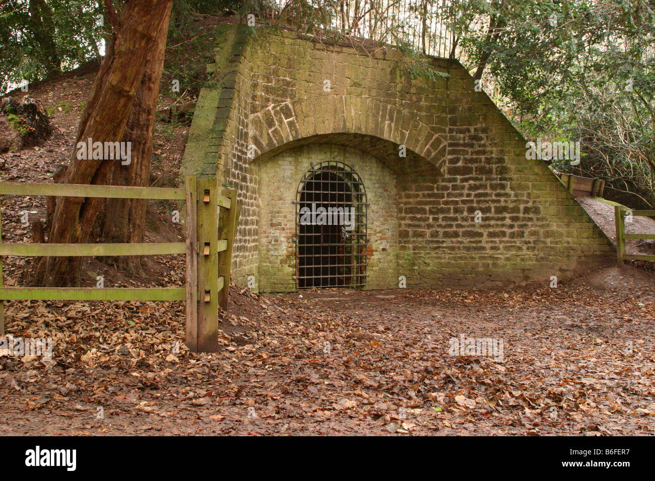 The Ice House Rufford Park Nottinghamshire - Stock Image