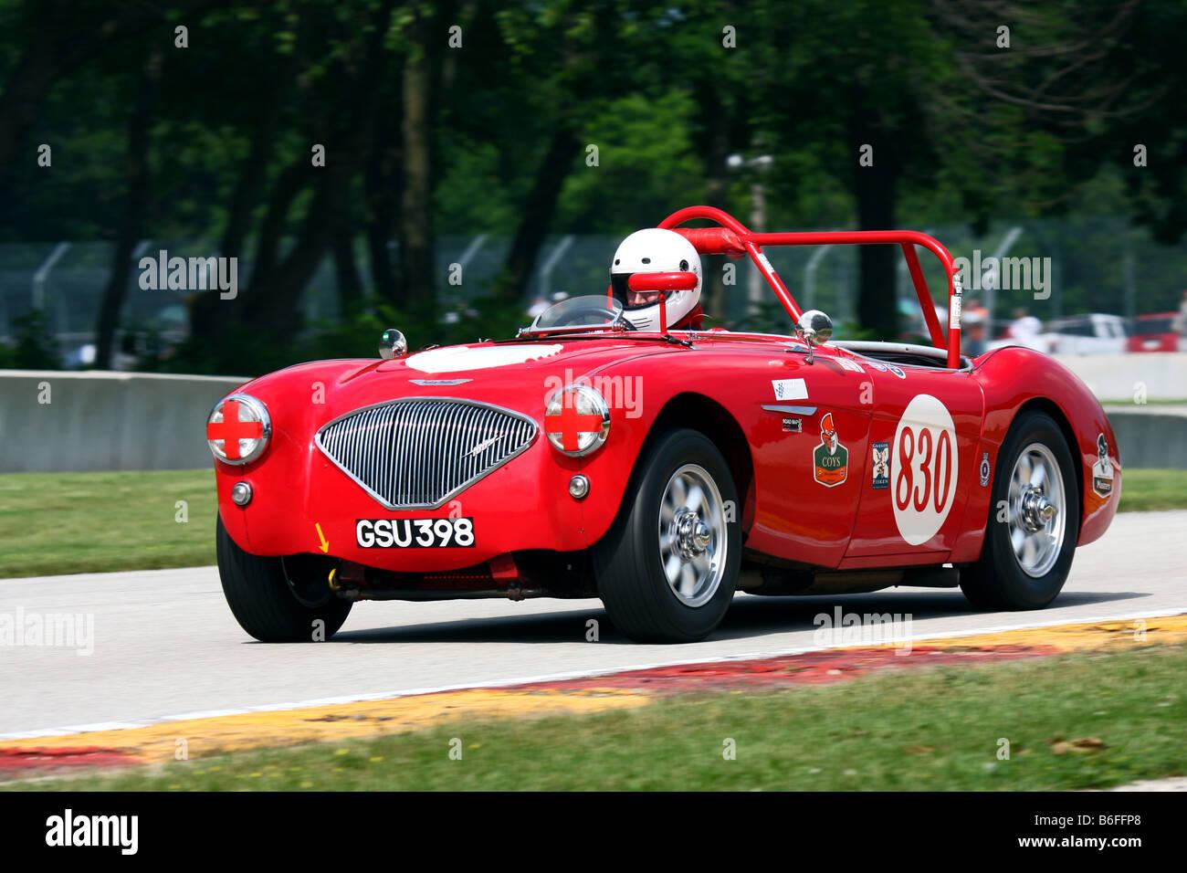 Vintage Racing Road America Kohler International Challenge - Stock Image