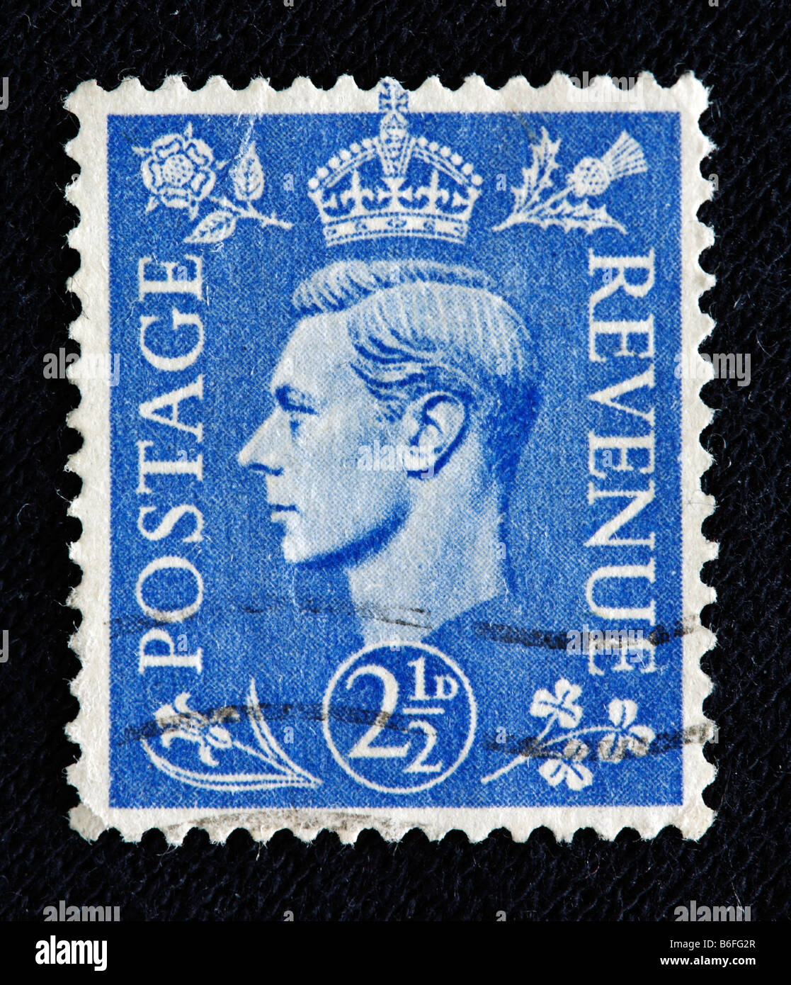 King George VI Of The UK 1936 1952 Postage Stamp