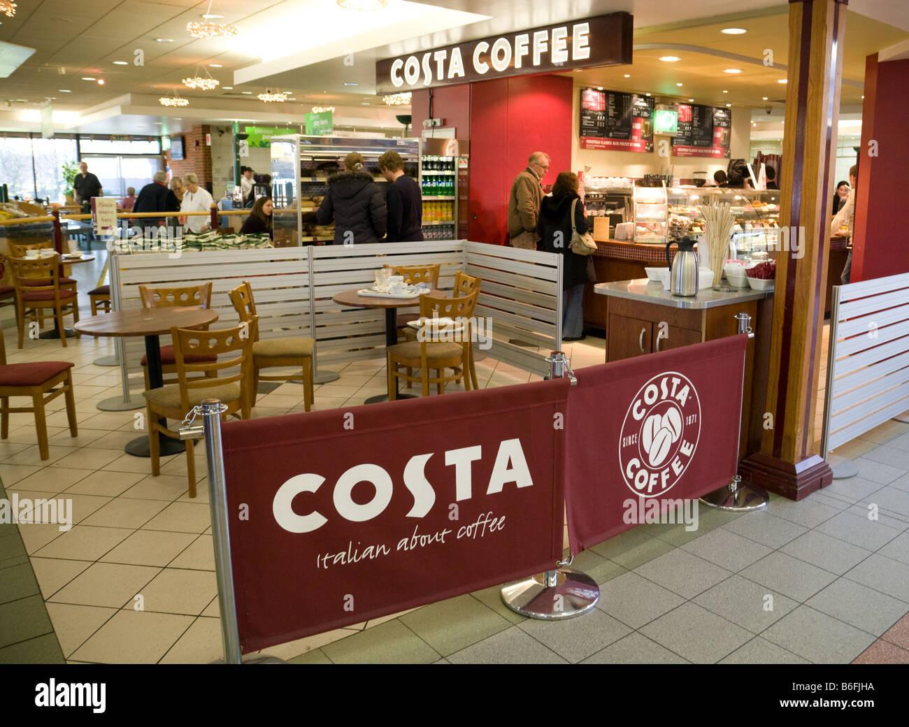 Costa Coffee Uk Interior Stock Photos Costa Coffee Uk