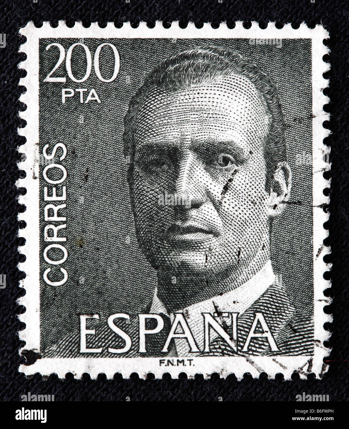 King Juan Carlos I Of Spain 1975 To Present Postage Stamp