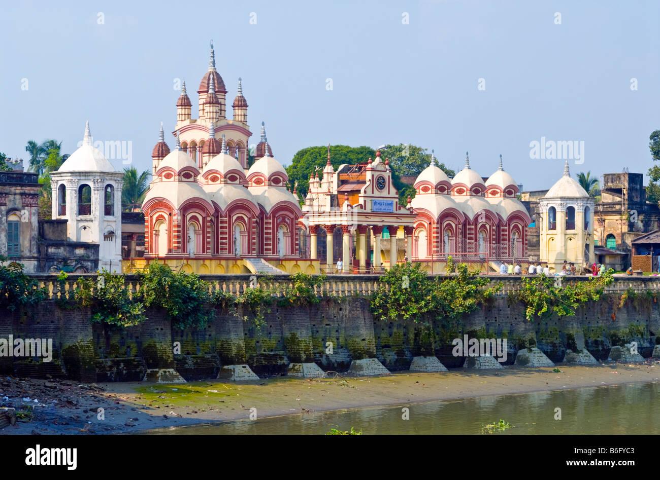 Temple, Kolkata - Stock Image