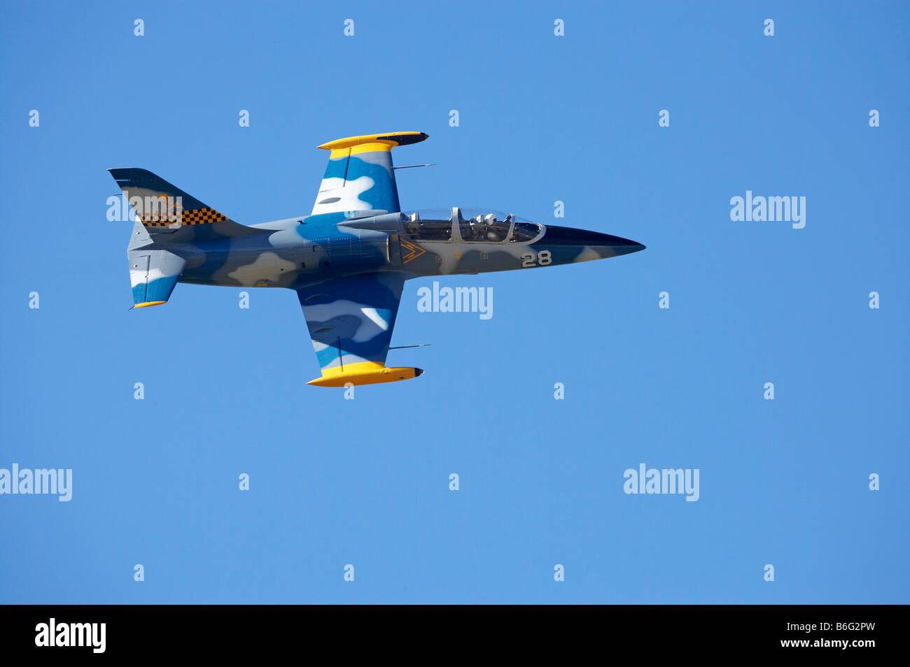 Czechoslovakian L 39 Albatros Jet Fighter - Stock Image
