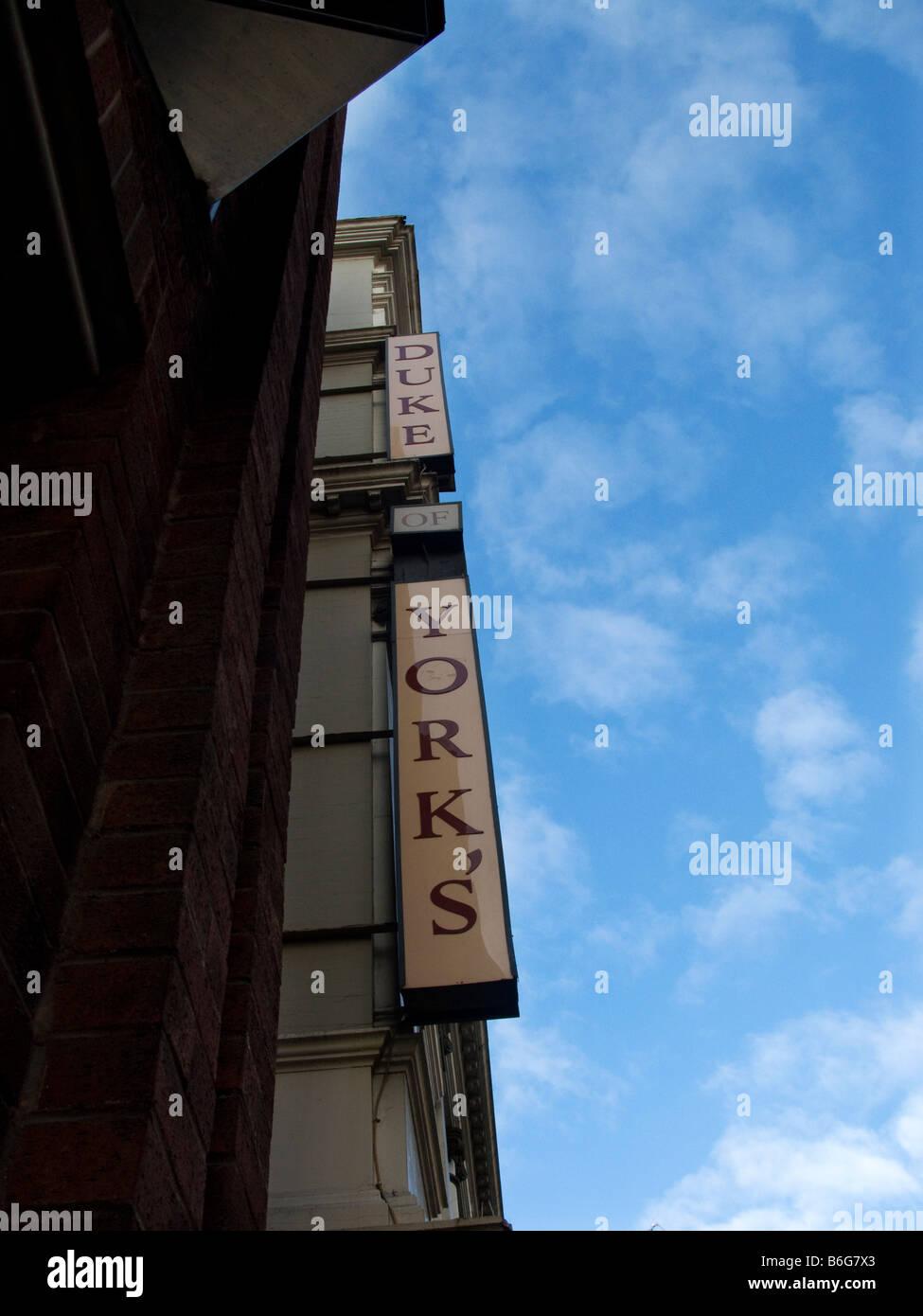 Duke of York Theatre, St Martin's Lane, London, WC2. - Stock Image