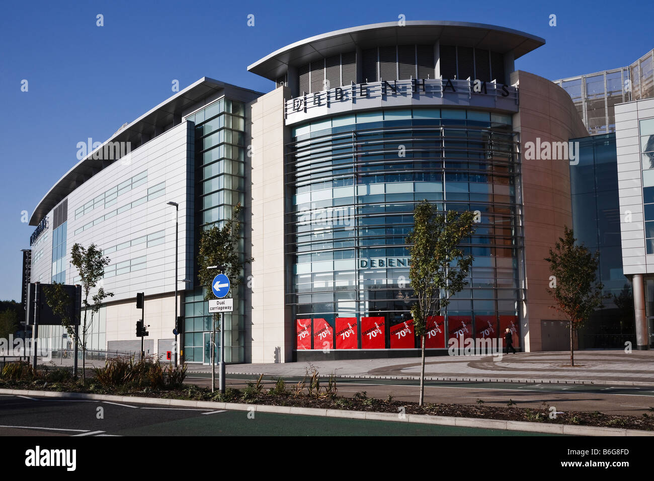 Westfield Centre, Derby, Derbyshire, England, UK - Stock Image