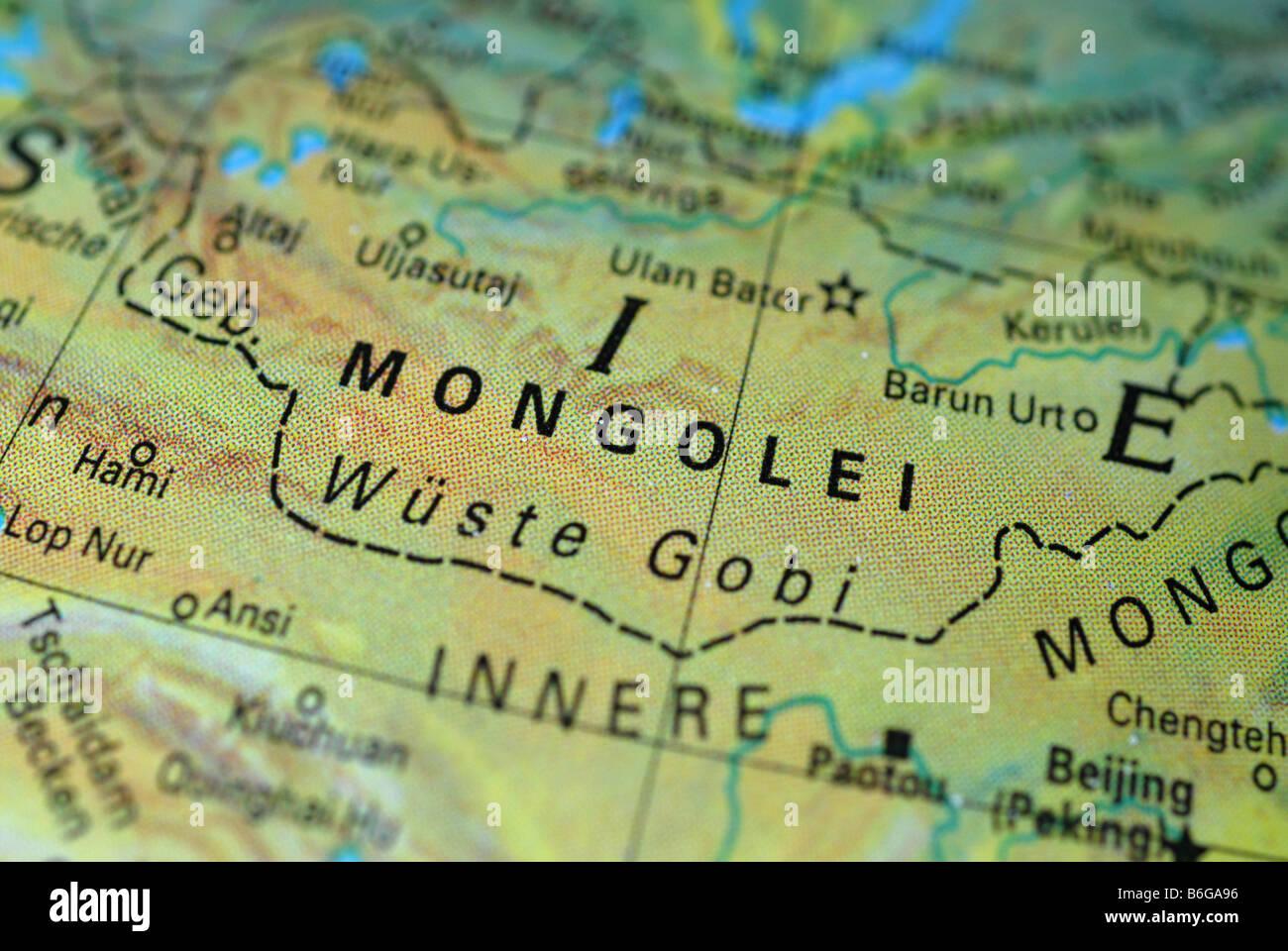 Mongolia - Stock Image