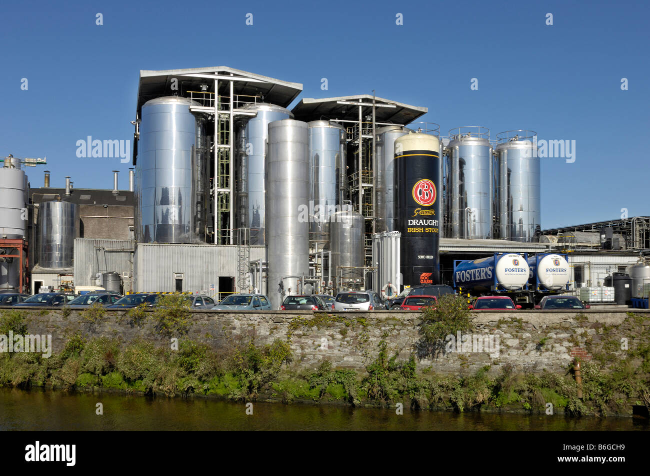 Beamish Crawford Irish stout brewery - Stock Image