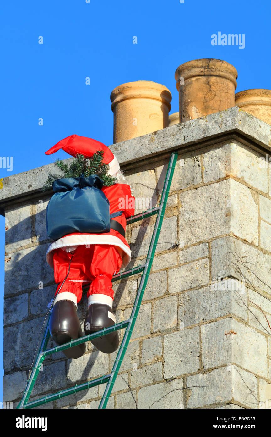 Father Christmas Chimney Stock Photos Amp Father Christmas