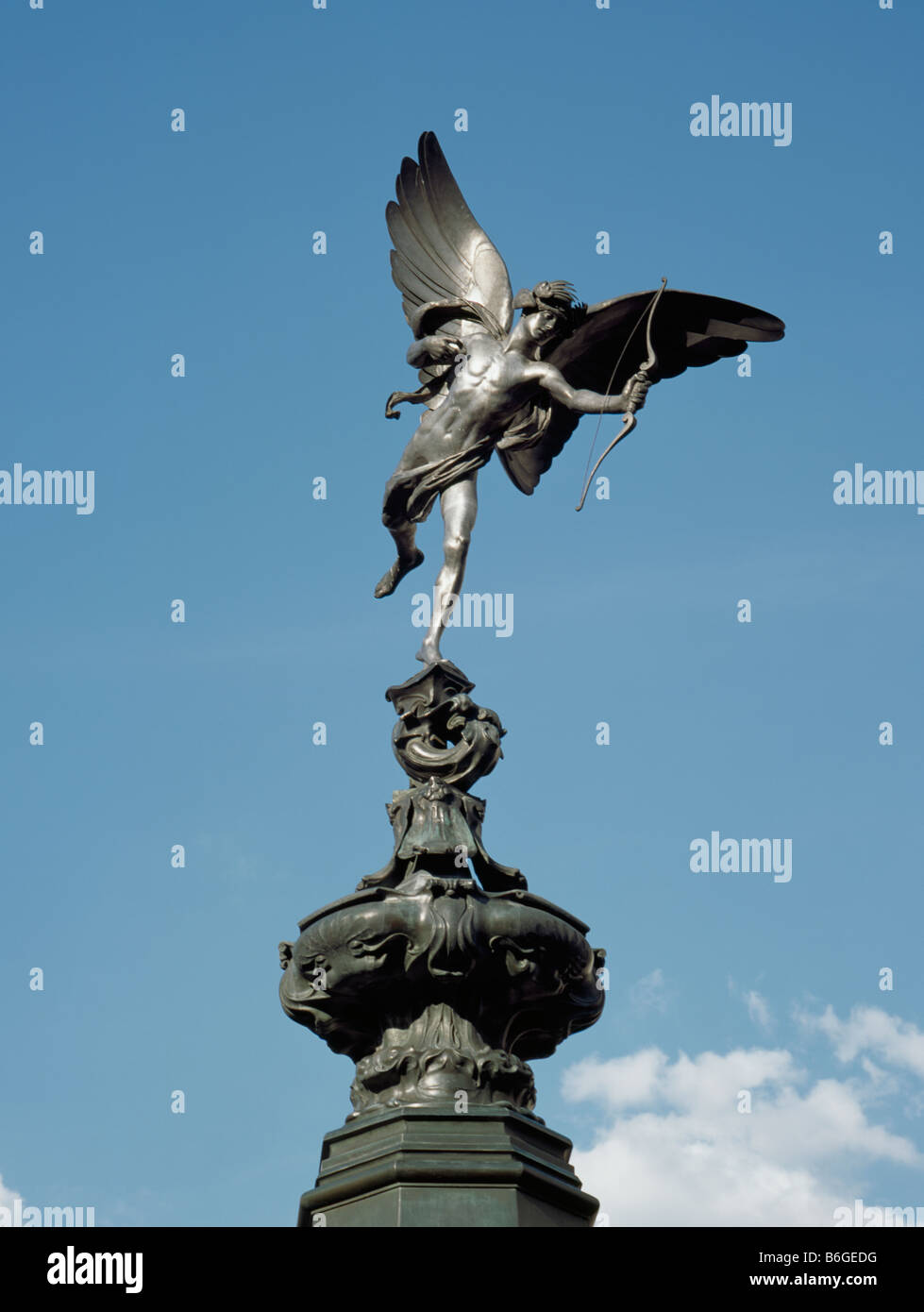 Eros Piccadilly Circus - Stock Image