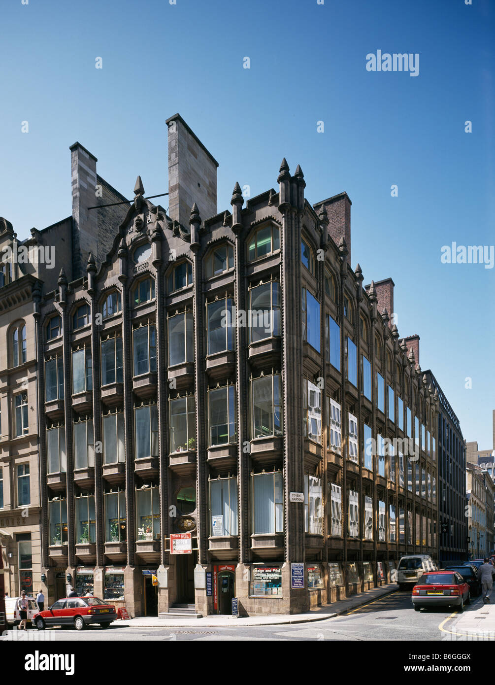 Oriel Chambers Liverpool - Stock Image