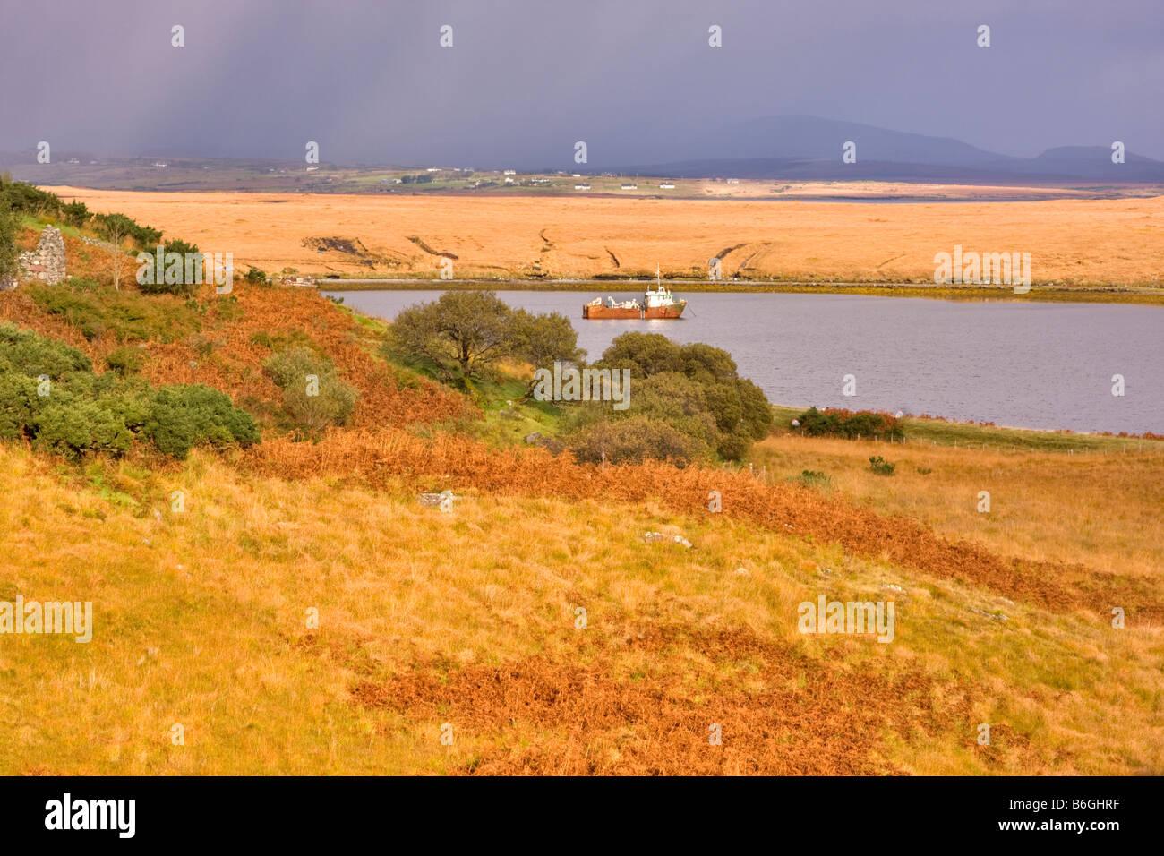 Corraun Peninsula, County Mayo, Ireland - Stock Image