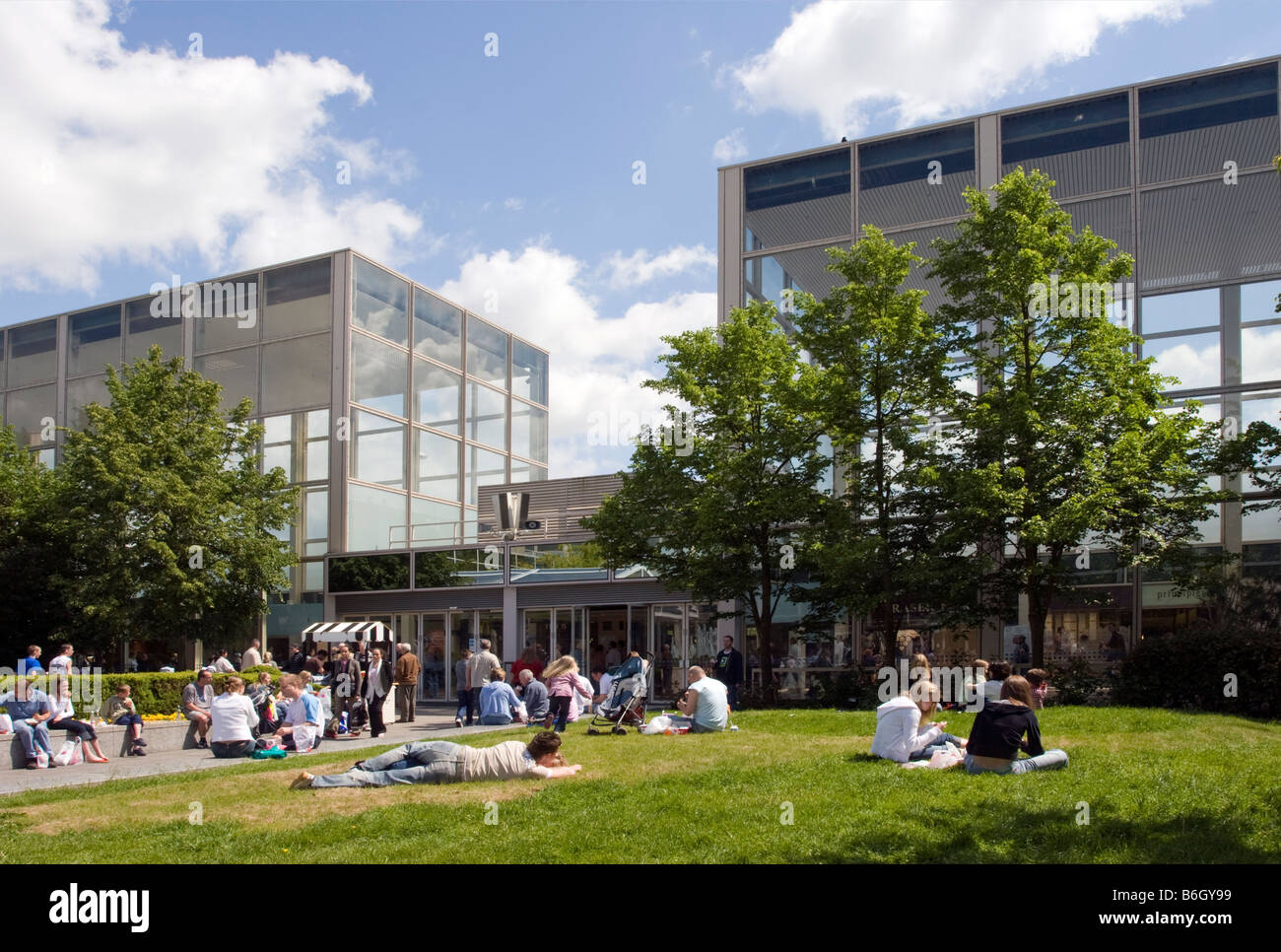 The thecentre:mk Shopping Centre - Milton Keynes - Buckinghamshire - Stock Image