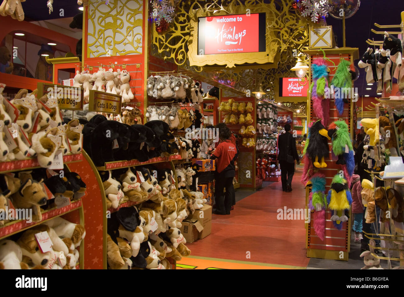 Toys From Hamleys : Hamleys toy shop regent street london stock photo