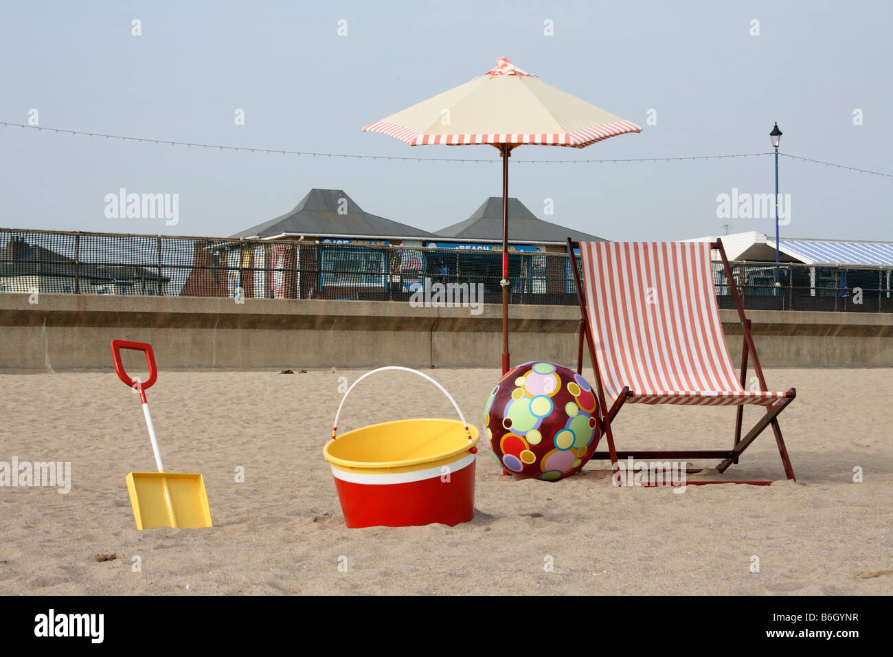 In Search of Albion, Sutton on Sea, Lincolnshire, England UK - Stock Image