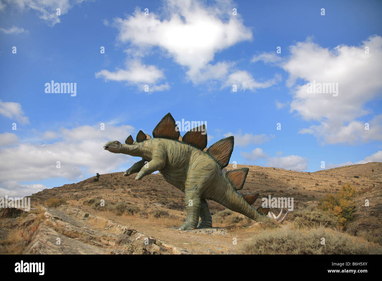 Dinosaurus in lower Rioja - Stock Image