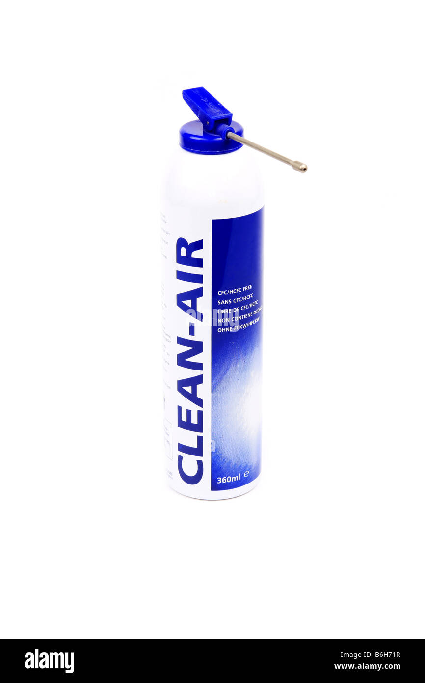 Aerosol can of Clean Air - Stock Image
