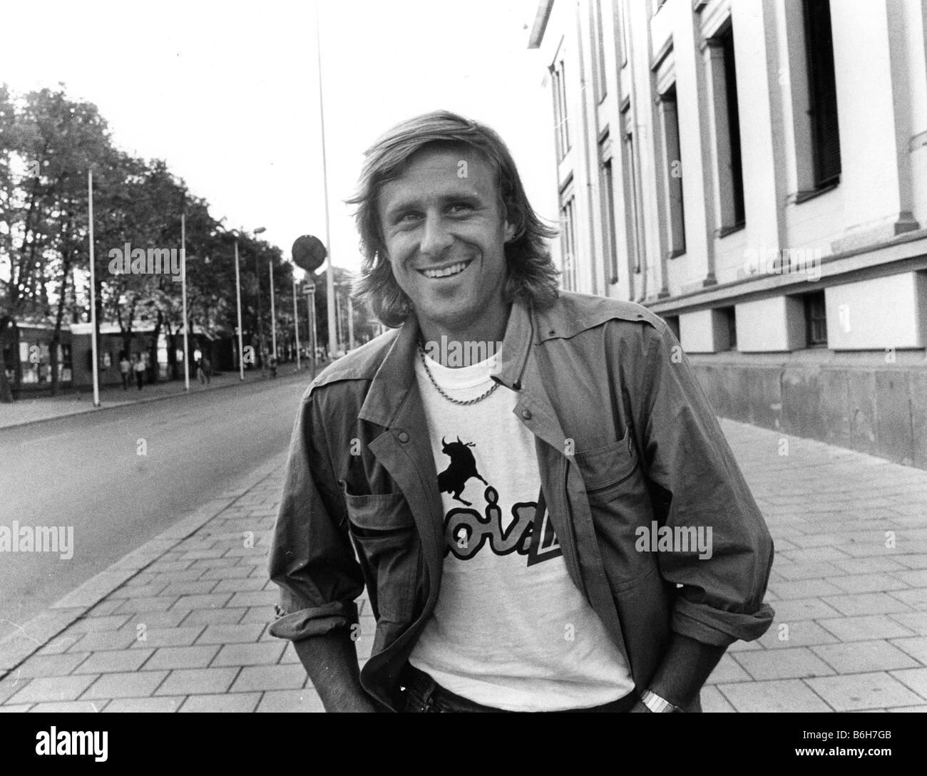 BJORN BORG  Swedish tennis player - Stock Image