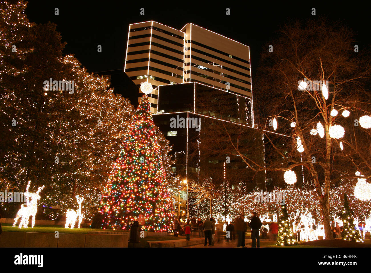 Marvelous Christmas Lights In Downtown Richmond, Virginia Nice Design