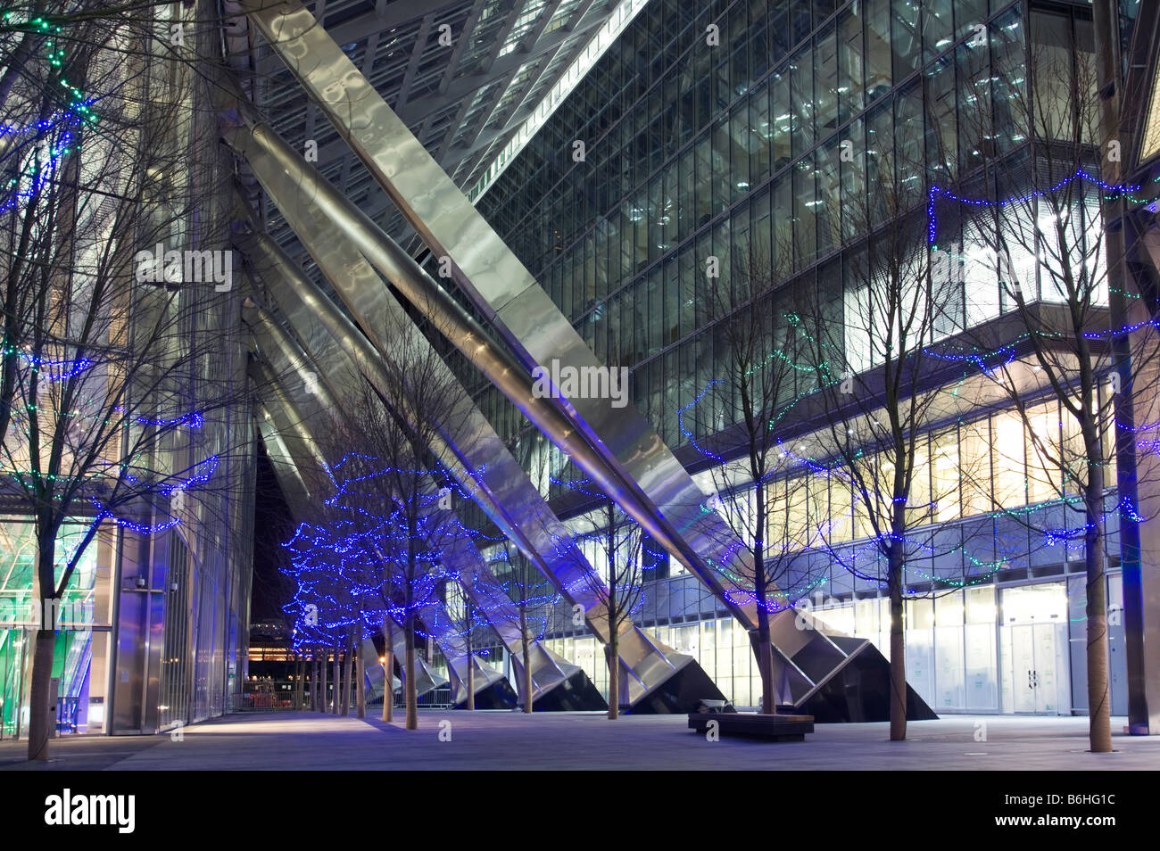 Broadgate Tower-  201 Bishopsgate - City of London. - Stock Image