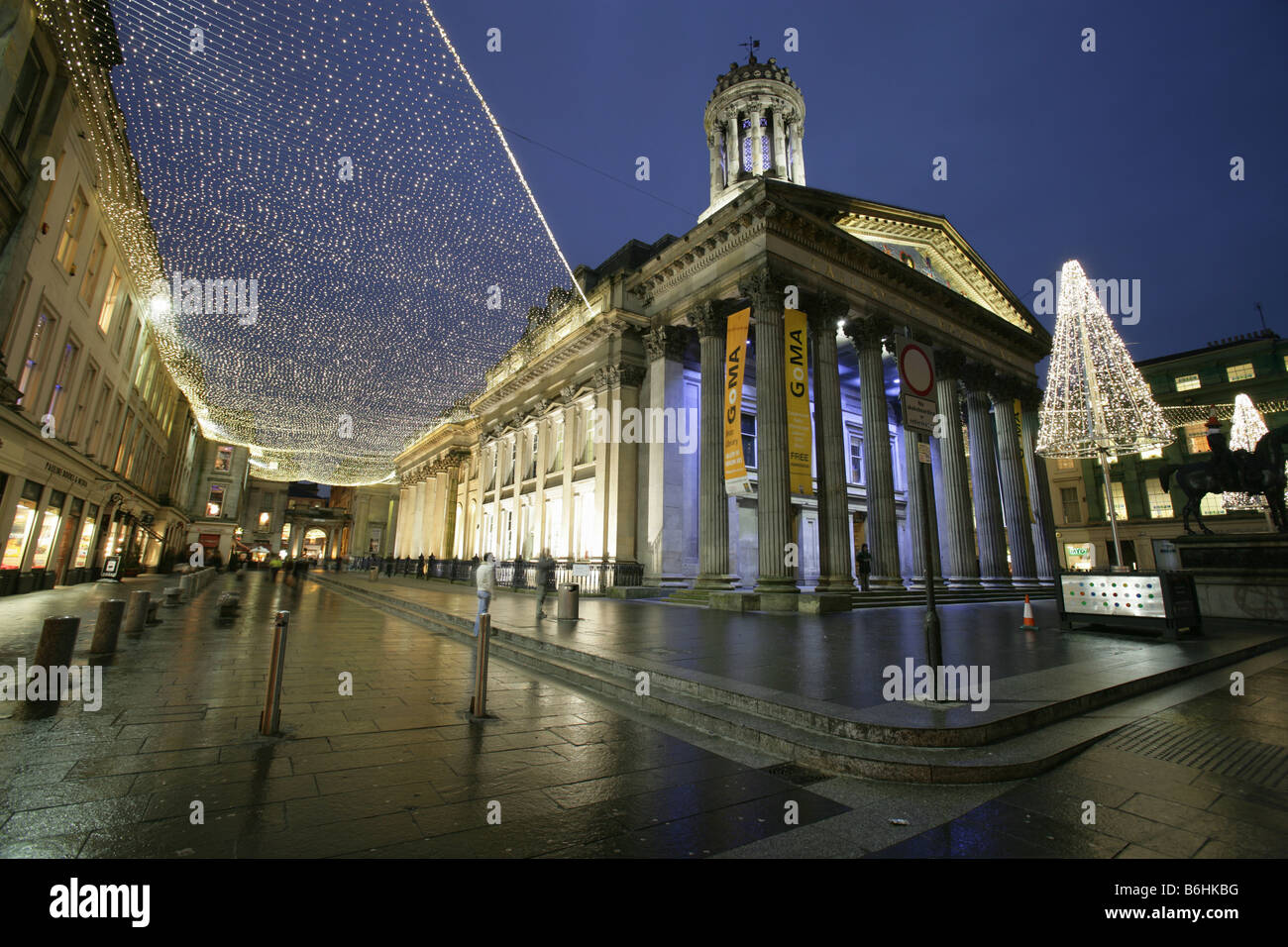 City Of Glasgow Scotland The Queen Street Neoclassical