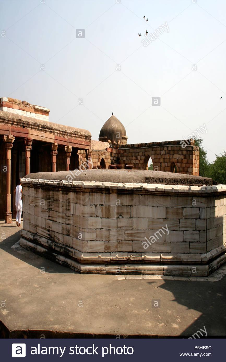 SULTAN GHARIS TOMB IN DELHI INDIA - Stock Image