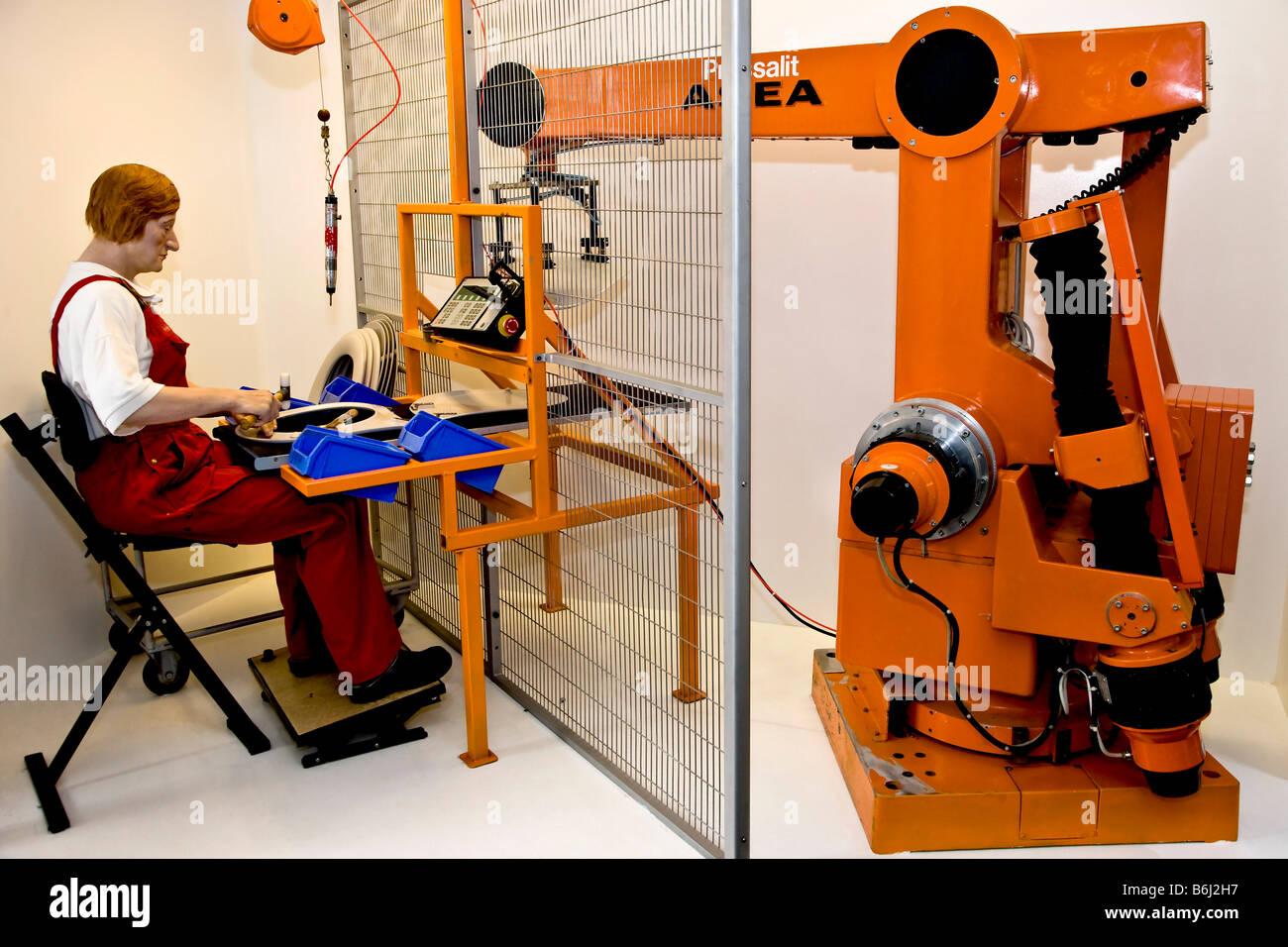 Robotics - Stock Image