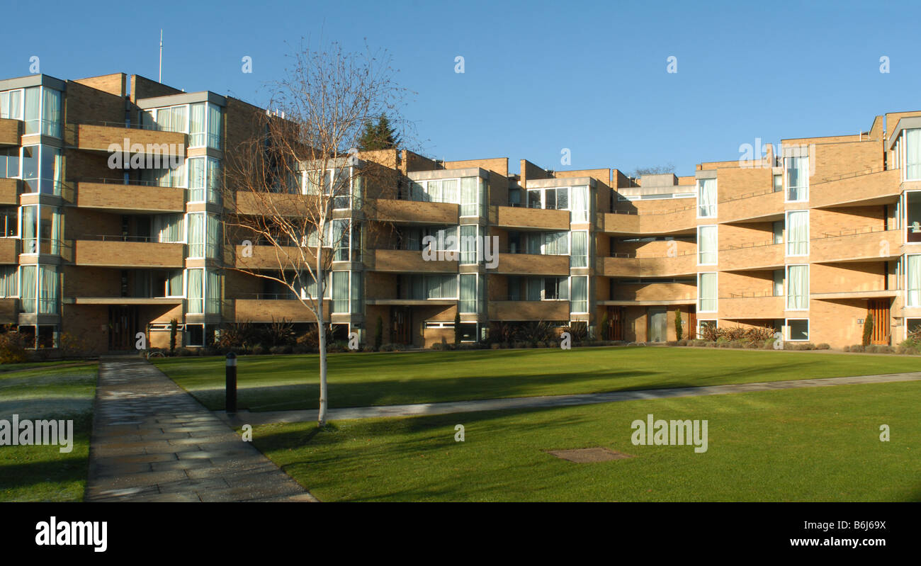 Student accommodation in North Court, Jesus College Cambridge - Stock Image