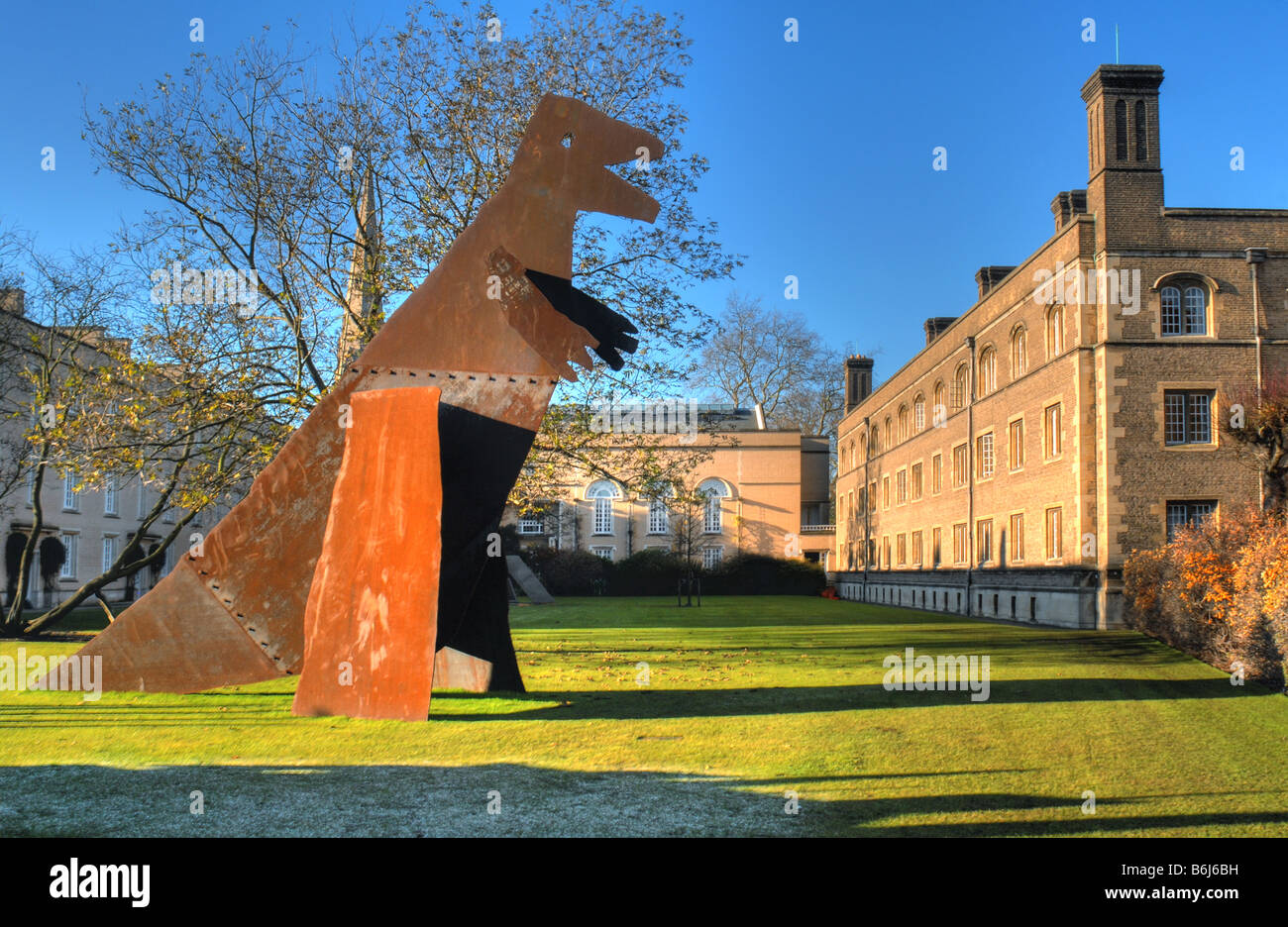 Part of the installation 'The meek shall inherit the Earth but not the mineral rights' by the Chapman Brothers - Stock Image