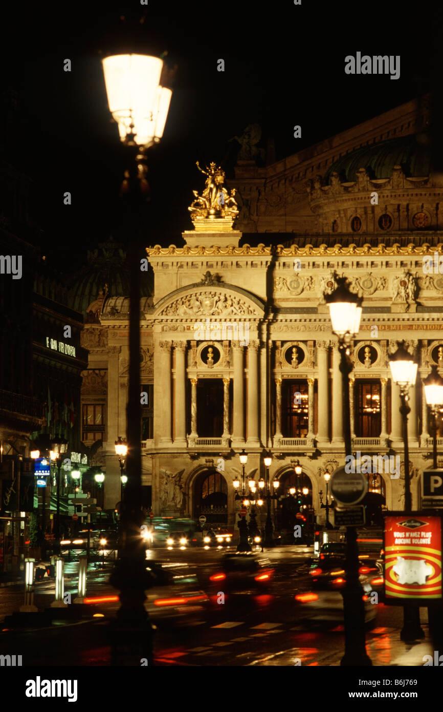 Paris France Opéra National de Paris Garnier 9th Arrondissement - Stock Image