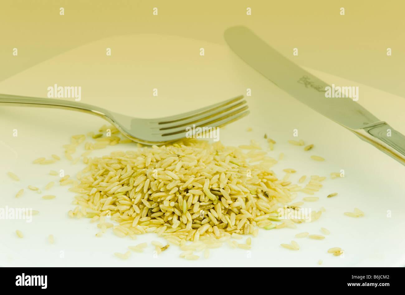 Food crisis - Stock Image