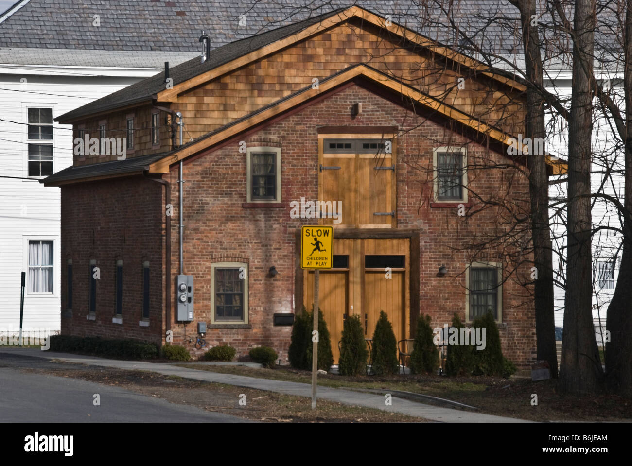 Late18th Century Converted Brick Barn Montgomery NY