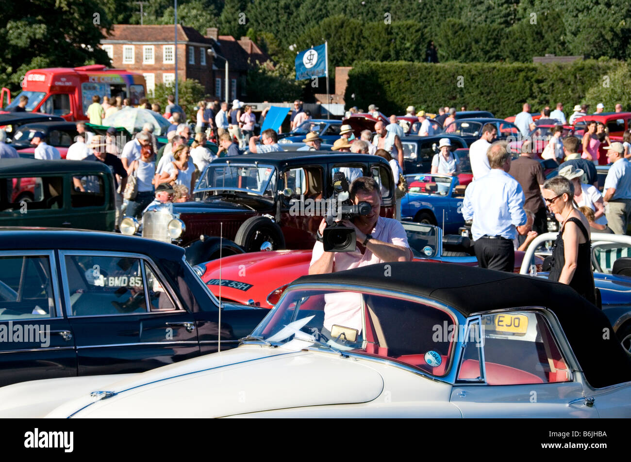 Classic Car Show England Harpenden Classics On The Common Stock - Car show england