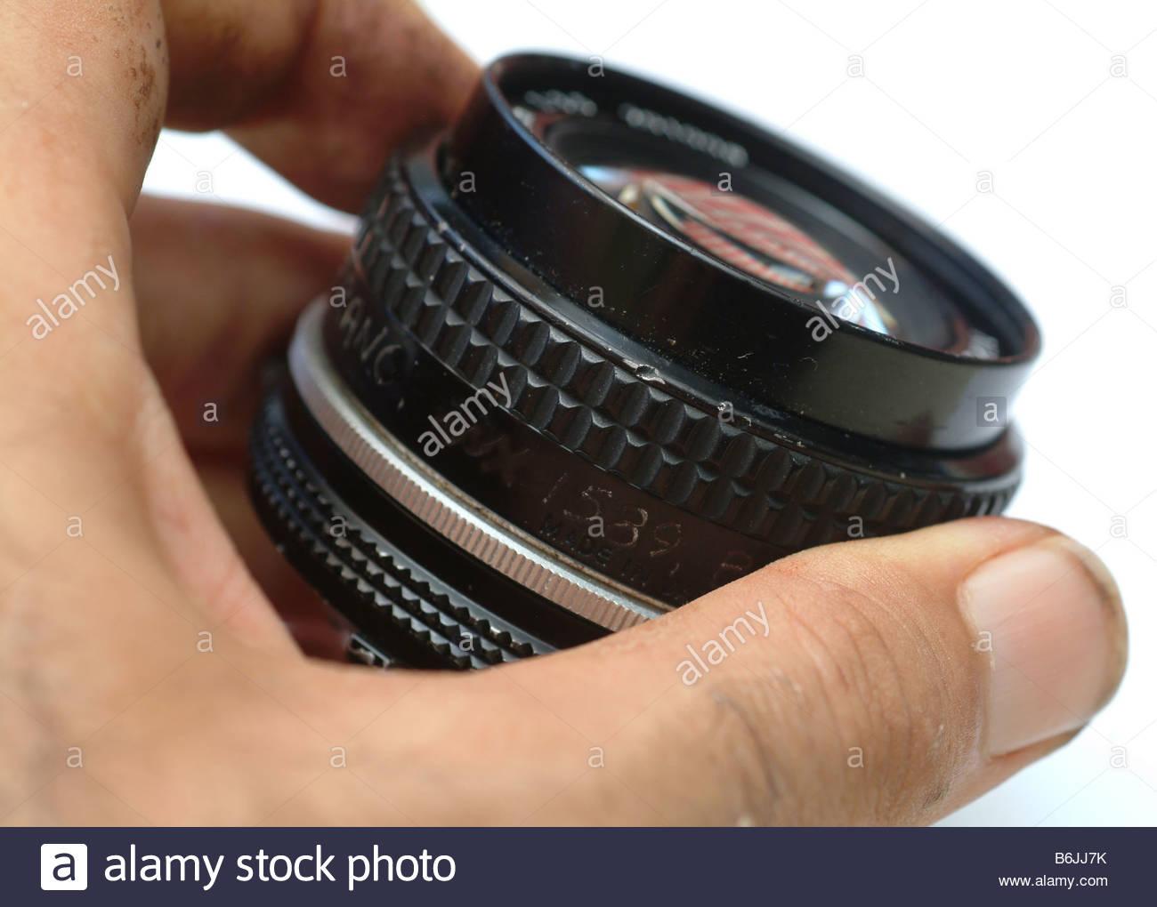 Camera lens 24mm wide angle manual focus 24 f2 8 Nikon 2 8