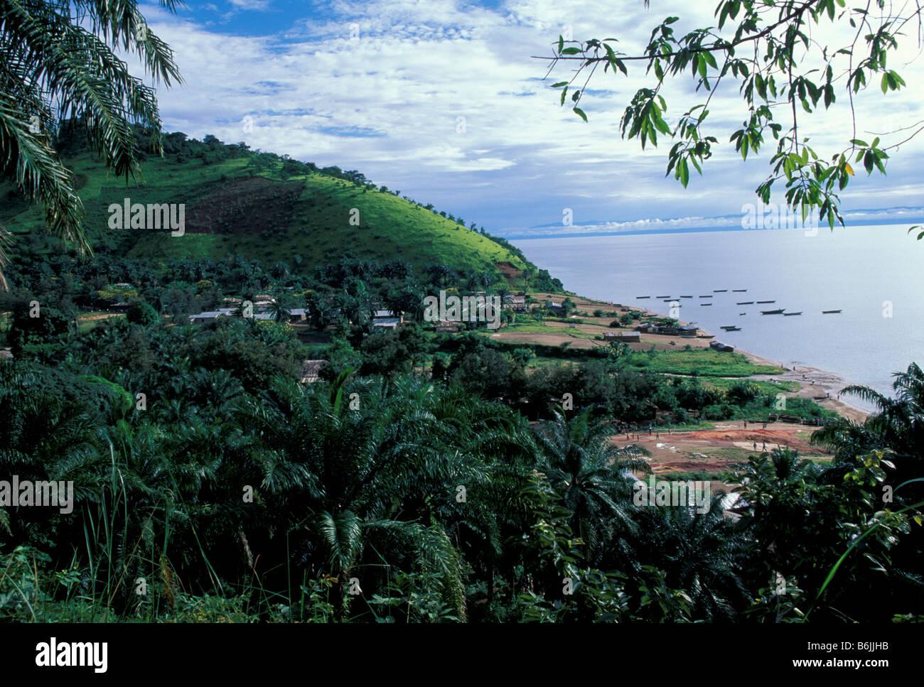 Lake Tanganyika Village Stock Photos Amp Lake Tanganyika