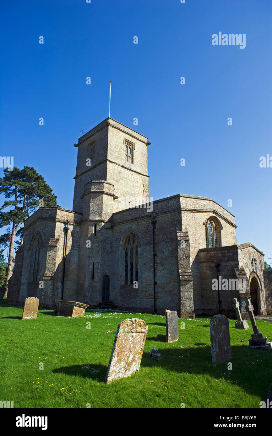 England, Somerset, South Perrott. St Mary's Church - Stock Image