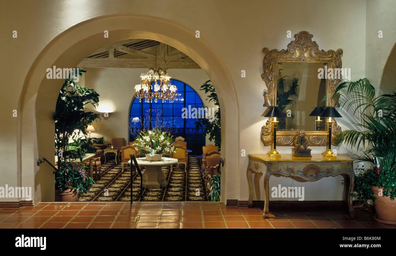 Four Seasons Resort Biltmore Hotel Resort Santa Barbara CA Spanish ...