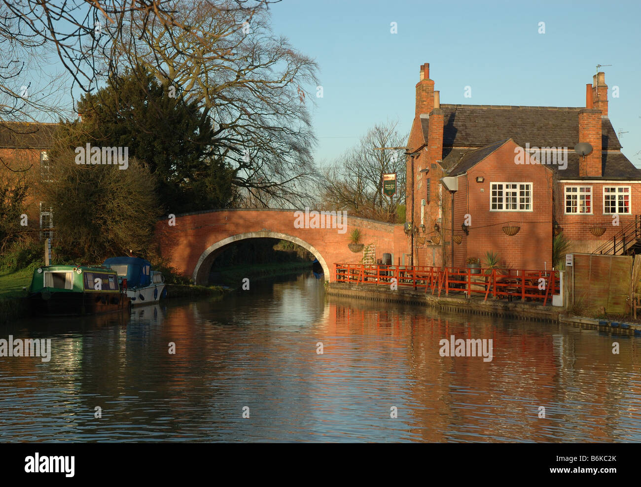 the Navigation Inn, Barrow upon Soar, Leicestershire, England, UK - Stock Image