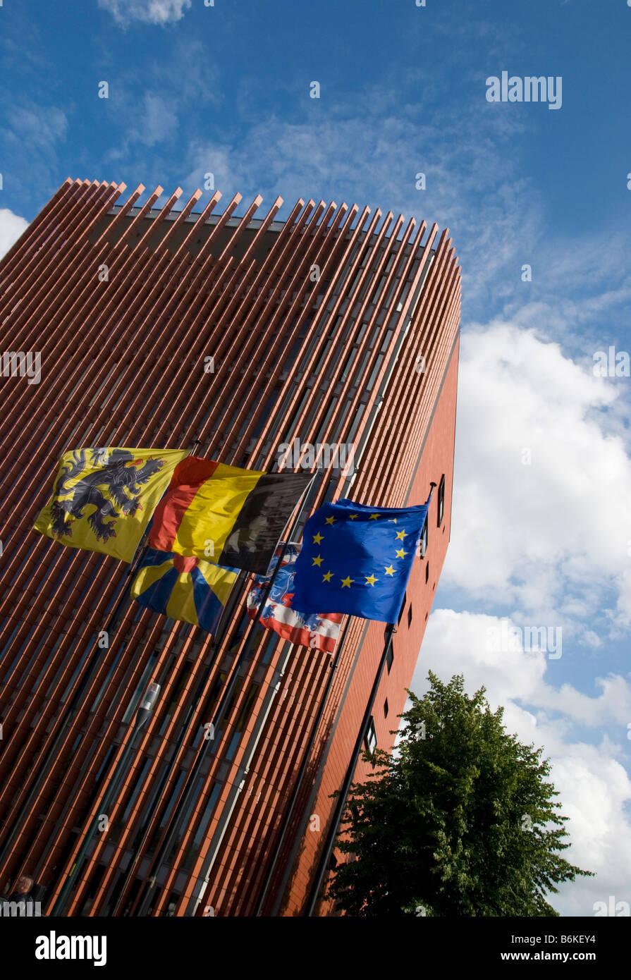 Bruges City Scene, Belgium Stock Photo