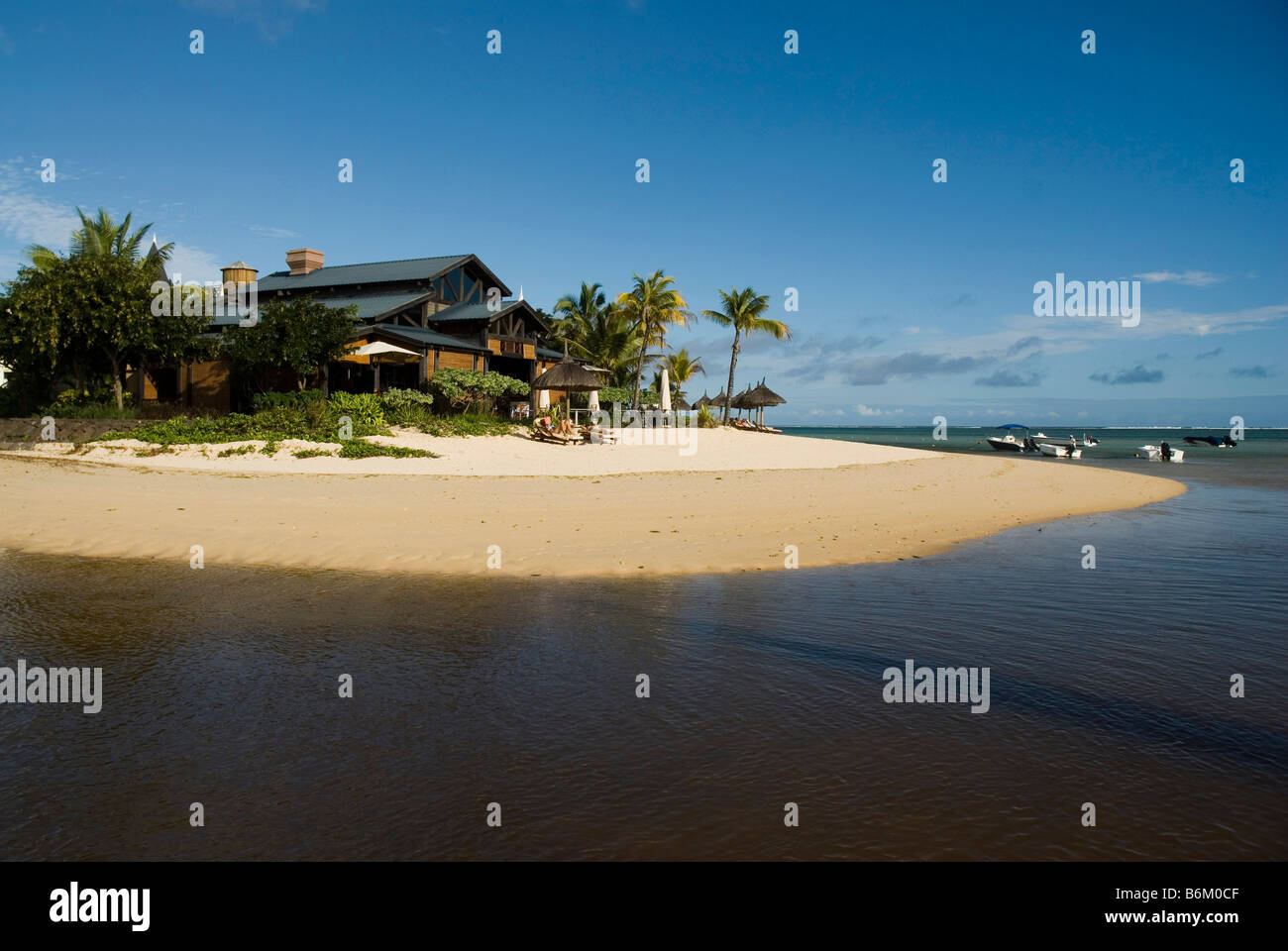 Hotel Le Telfair in Bel Ombre MAURITIUS ISLAND - Stock Image