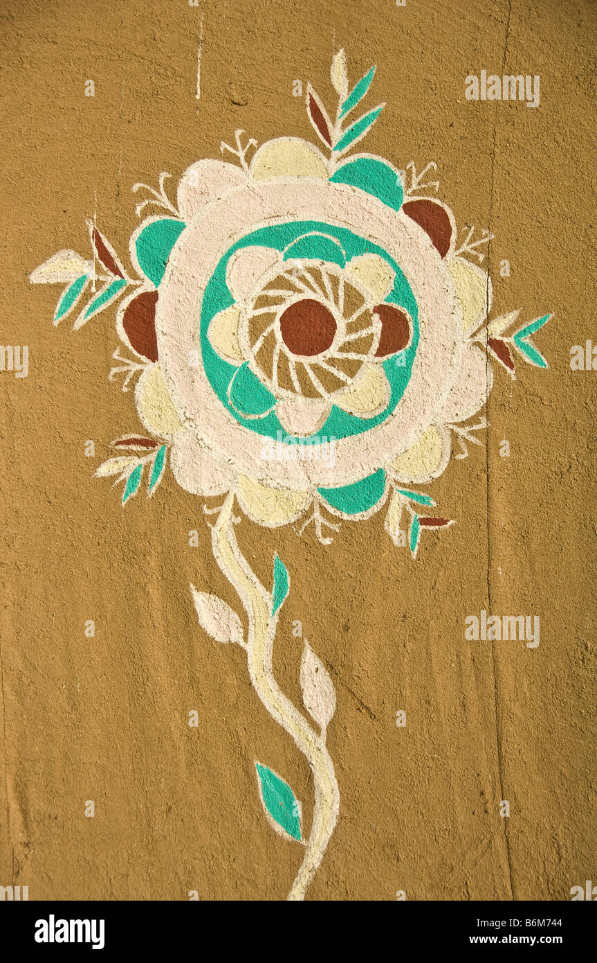 Rajput motif - Stock Image