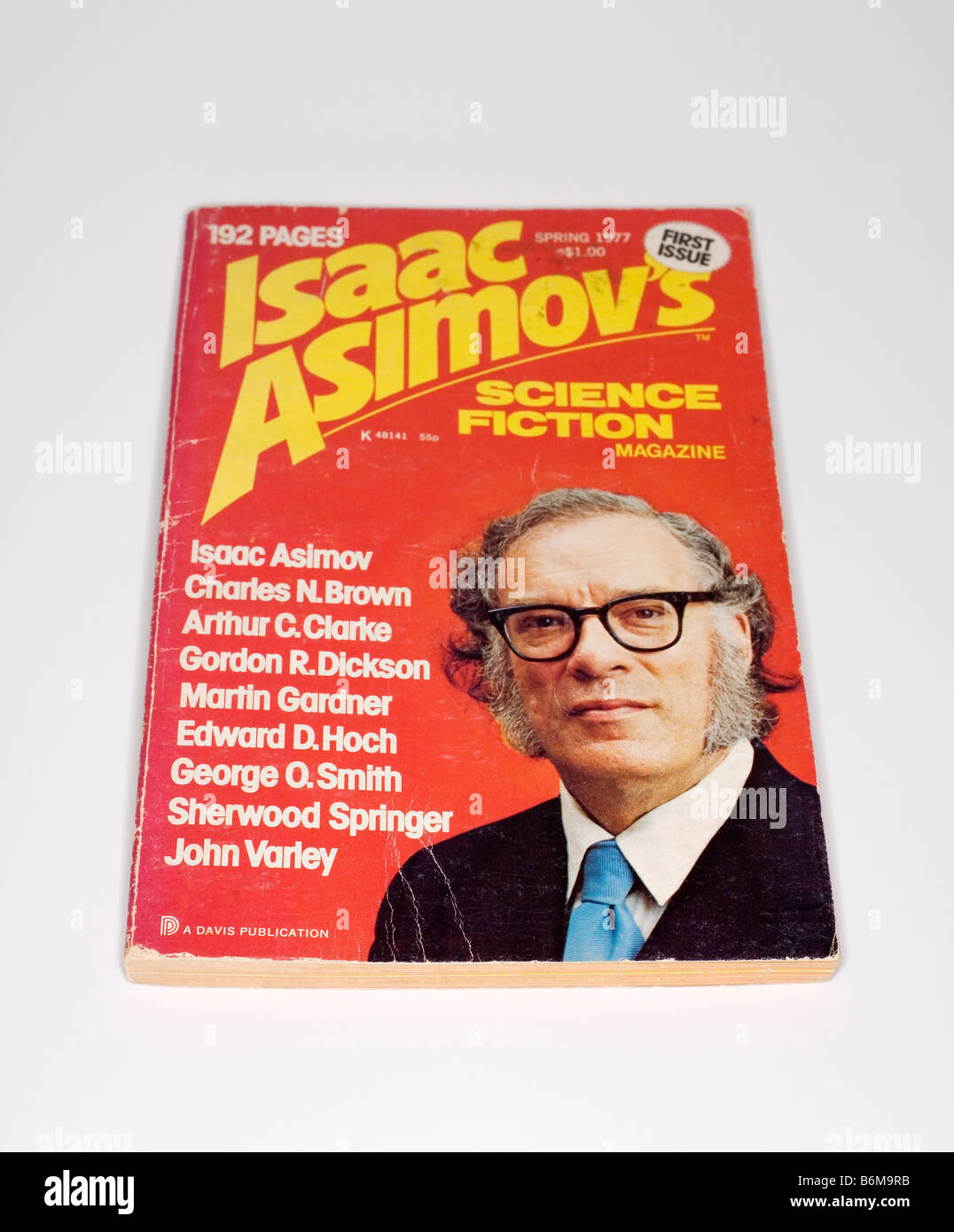 Isaac Asimov´s Science Fiction Magazine Spring 1977 - Stock Image