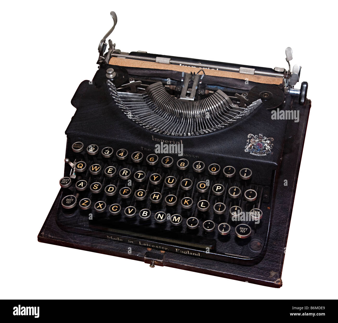 Imperial The Good Companion typewriter - Stock Image