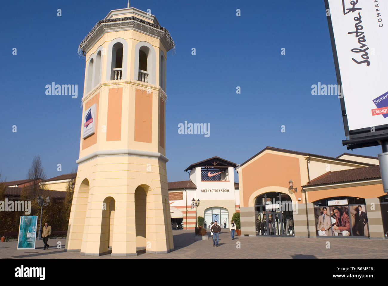 Serravalle Scrivia outlet shopping center Serravalle Scrivia ...
