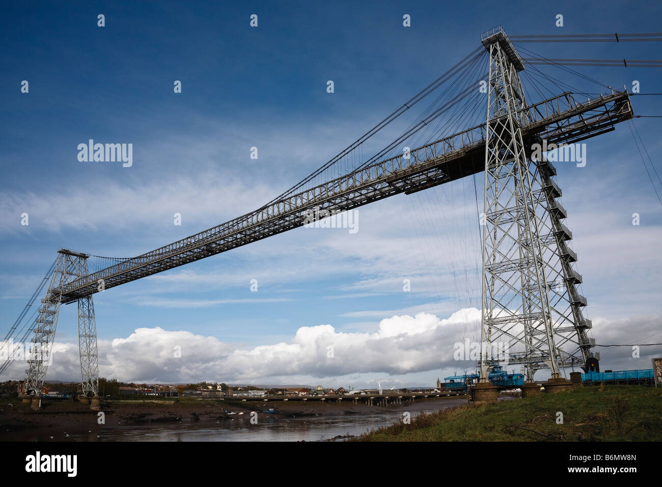 The Transporter Bridge, Newport, South Wales - Stock Image