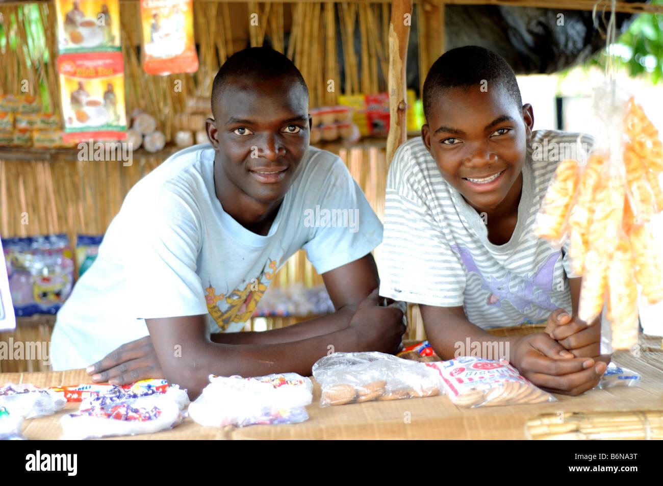 salima malawi brothers - Stock Image