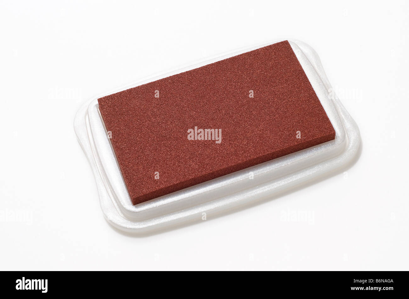 Brick Red Rubber Stamp Ink Pad
