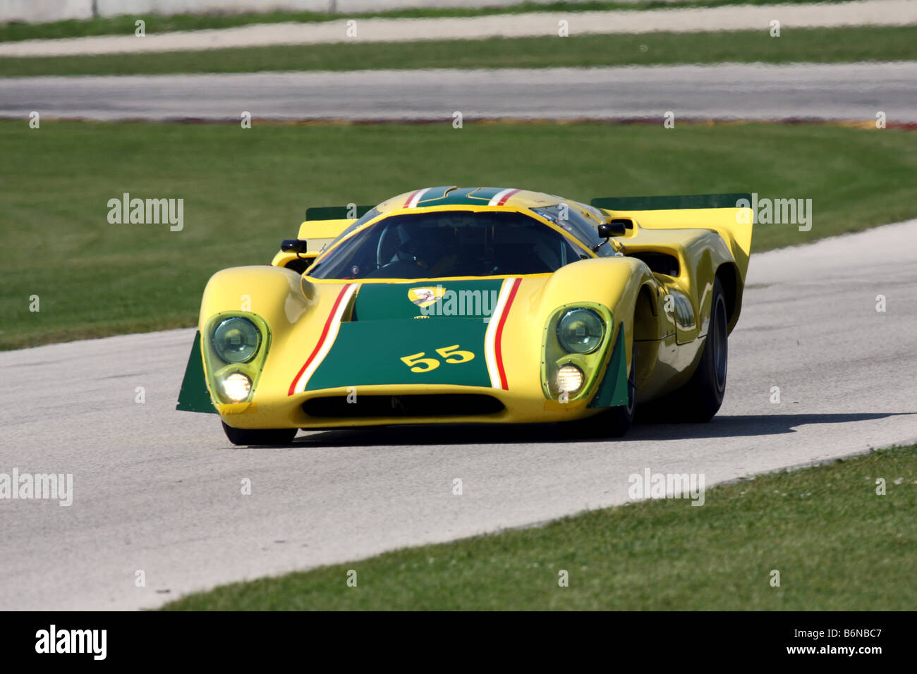 Kohler International Challenge 2008 with Brian Redman Presented by FORD - Stock Image